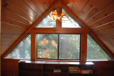 The sun room windows